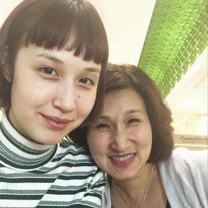 水原佑果と母親 (出典:https://www.instagram.com/ashley_yuka/)