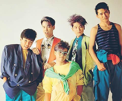1980年代の「CCB」(左端:田口智治) (出典:http://matome.naver.jp/)
