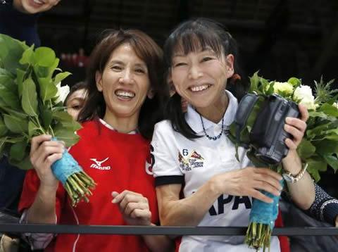 加藤凌平選手の母・加藤由美さ 内村航平選手の母・内村周子