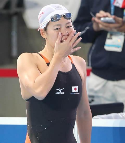 星奈津美選手 水着画像