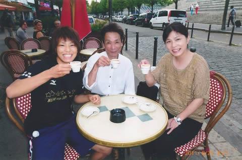 松本薫 家族(父親と母親)