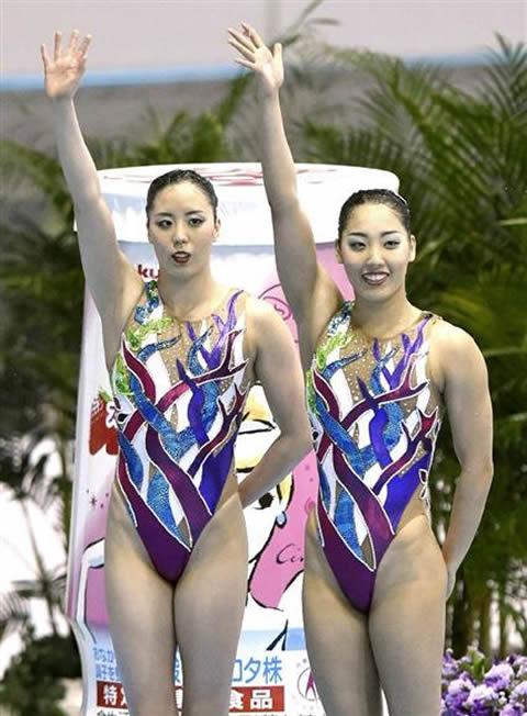 三井梨紗子 乾友紀子 シンクロペア