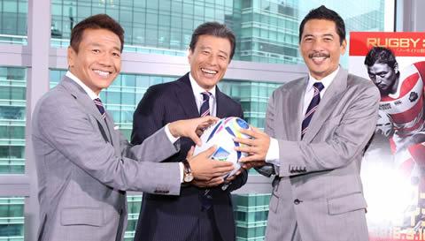 平尾誠二、2015年ラグビーワールドカップで解説